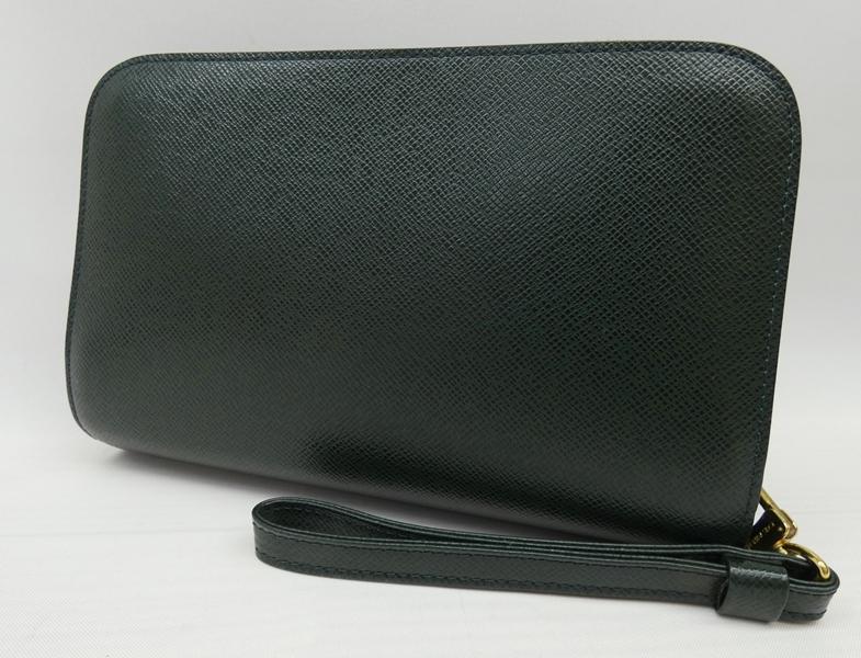 【中古】LOUIS VUITTON/ルイ・ヴィトン M30184 タイガ エピセア バイカル セカンドバッグ