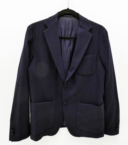 【中古】UNUSED/アンユーズド 2Bテーラードジャケット サイズ:2 カラー:ネイビー / セレクト