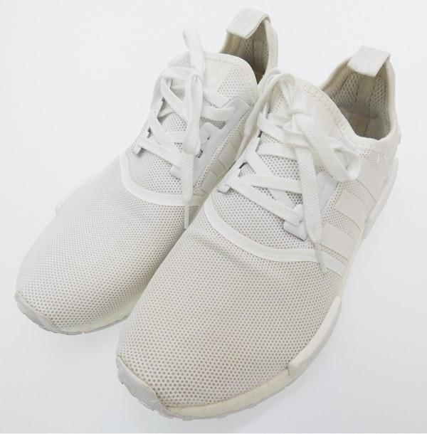 【中古】adidas/アディダス BA7245 NMD R1スニーカー サイズ:27.5cm カラー:ホワイト