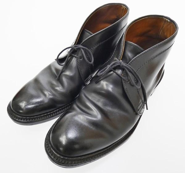 【中古】ALDEN/オールデン 1340 チャッカブーツ サイズ:7 1/2 カラー:ブラック