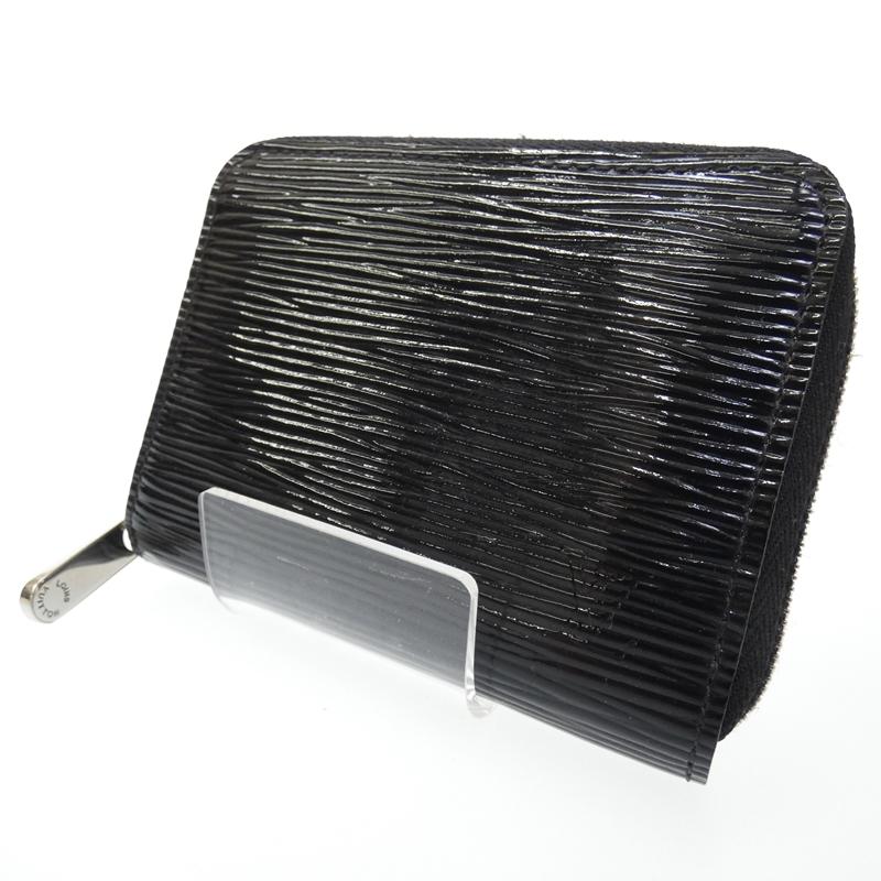 【中古】LOUIS VUITTON/ルイ・ヴィトン ジッピーコインパース コインケース 財布 サイズ:- カラー:ブラック【f125】