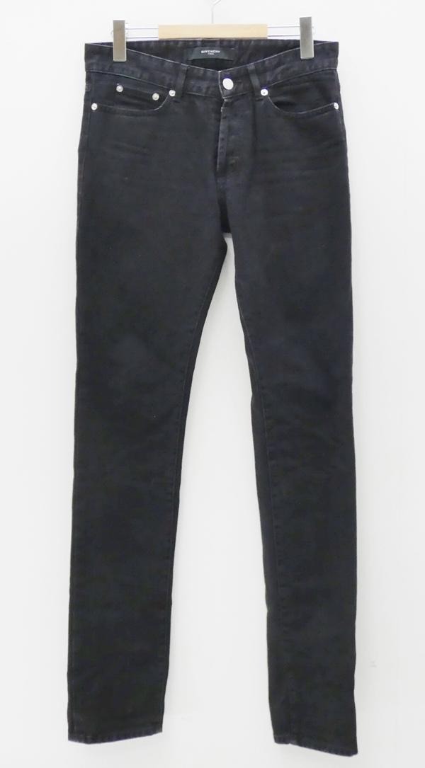 【中古】GIVENCHY/ジバンシィ デニムパンツ サイズ:28 カラー:ブラック