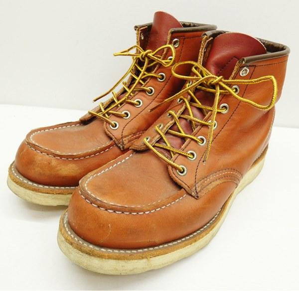 【中古】RED WING/レッドウイング 8875 アイリッシュセッターワークブーツ サイズ:US9 カラー:赤茶系【f127】