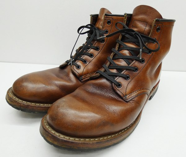 【中古】RED WING/レッドウイング 9016 BECKMAN ベックマンワークブーツ サイズ:27cm カラー:ブラウン【f127】