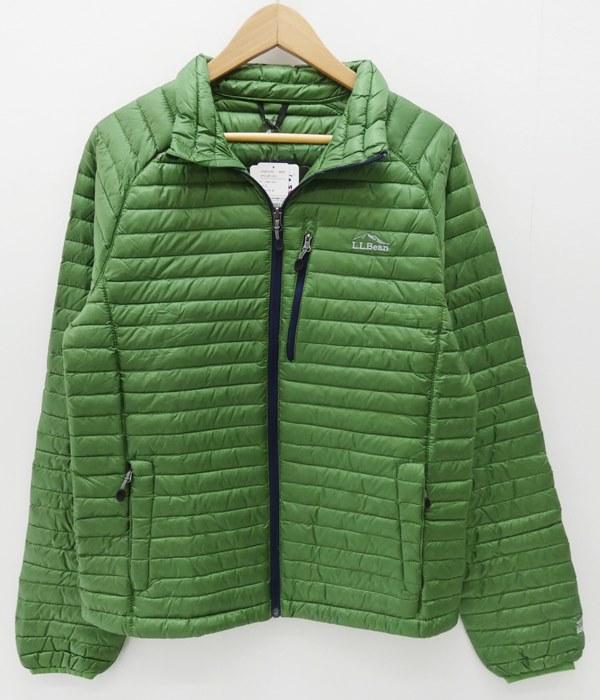 【中古】L.L.Bean/エルエルビーン インナーダウンジャケット サイズ:S カラー:グリーン / アウトドア【f092】