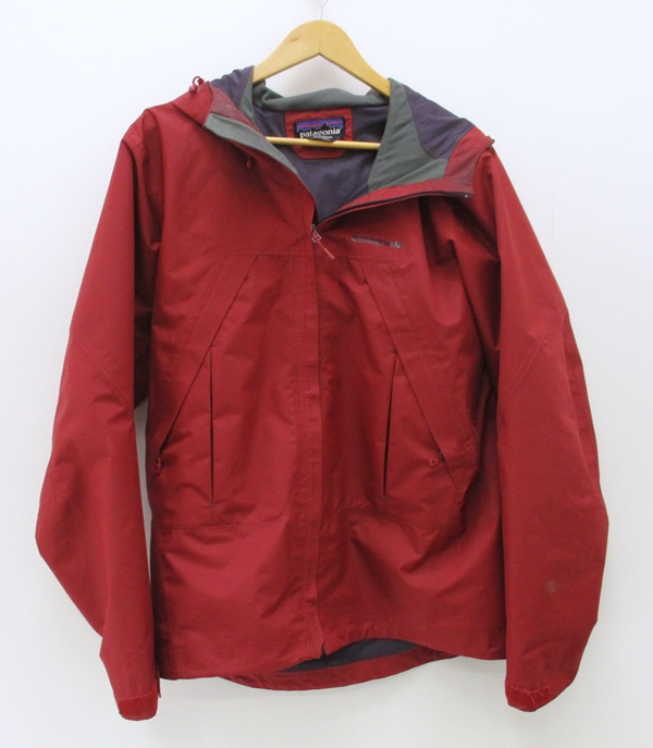 【中古】Patagonia/パタゴニア Storm Jacket ストームジャケット サイズ:M カラー:レッド / アウトドア【f092】