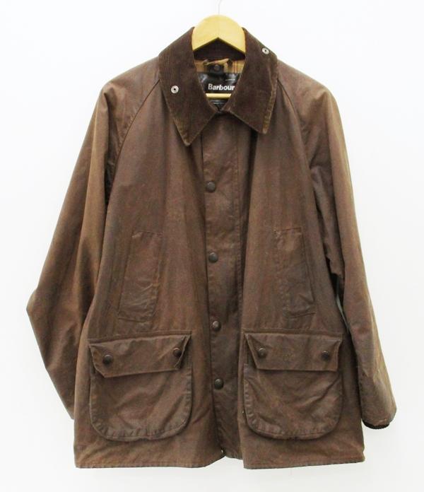 【中古】Barbour/バブアー/バーブァー BEDALE オイルドジャケット サイズ:44 カラー:ブラウン / インポート【f094】