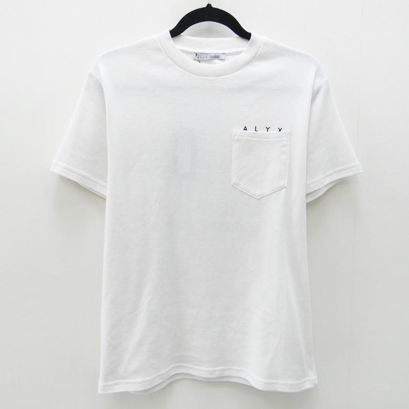 【中古】ALYX/アリクス 2017A/W NO LIFE S/S POCKET TEES/SポケットTee Tシャツ サイズ:S カラー:ホワイト【f108】