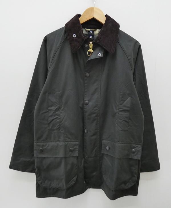 【中古】Barbour/バブアー/バーブァー BEAUFORT SLオイルドジャケット サイズ:38 カラー:カーキ / インポート【f094】