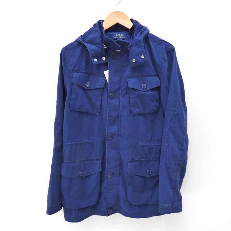 【中古】Ralph Lauren/ラルフローレン フィールドジャケット サイズ:XL カラー:ネイビー / アメカジ【f093】