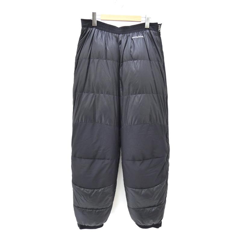 【中古】mont-bell/モンベル ベンティスカダウンパンツ サイズ:XL カラー:ブラック / アウトドア【f107】