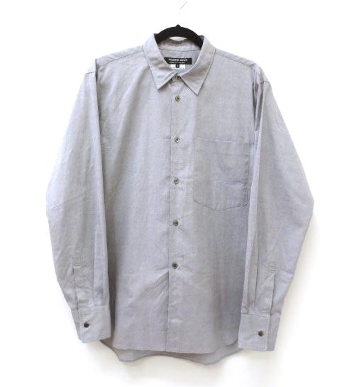 【中古】COMME des GARCONS HOMME/コムデギャルソンオム AD2016 L/Sシャツ サイズ:M カラー:グレー / ドメス