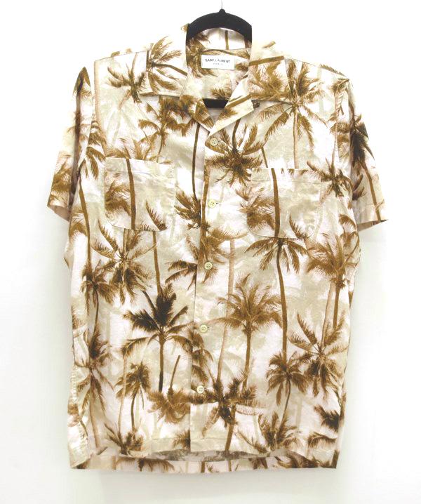 【中古】Saint Laurent/サンローラン S/Sシャツ サイズ:37 カラー:マルチカラー / インポート