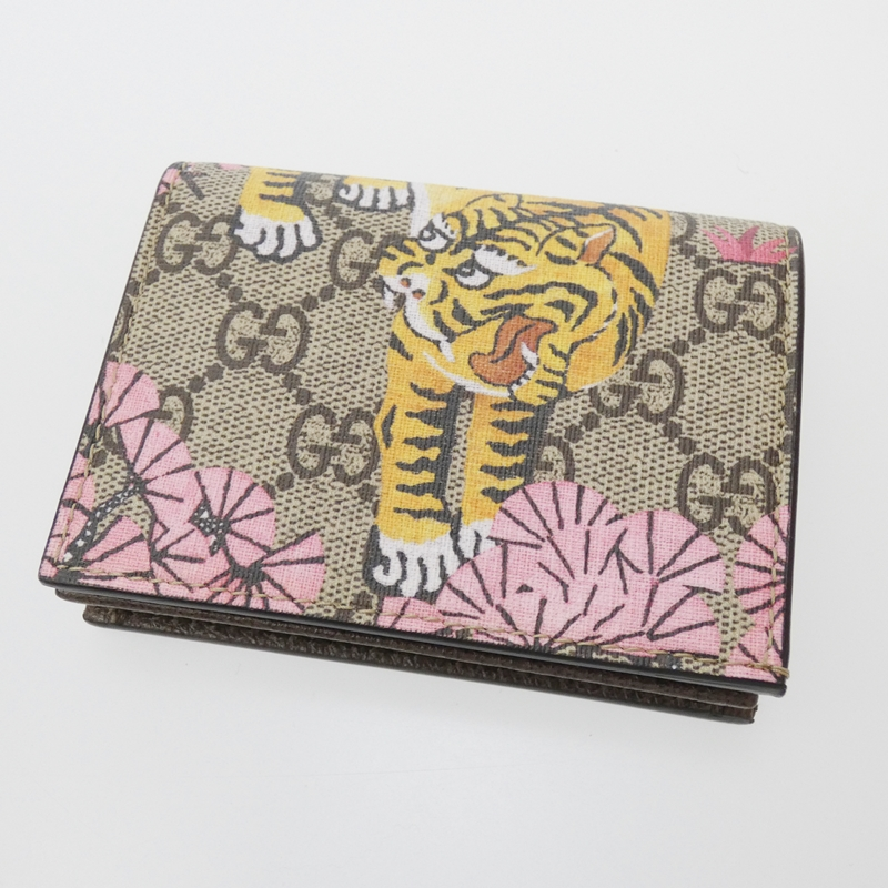 【中古】GUCCI/グッチ 二つ折り財布 サイズ:- カラー:マルチカラー【f125】