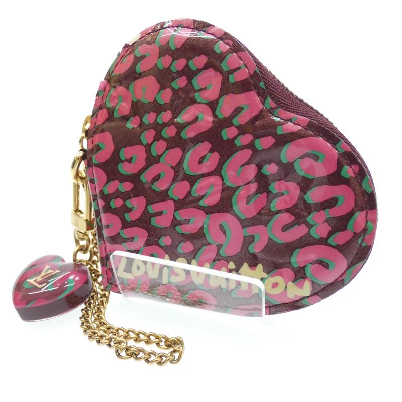 【中古】LOUIS VUITTON/ルイ・ヴィトン ポルトモネクール キーリング付きコインケース 財布 サイズ:- カラー:ピンク系【f125】