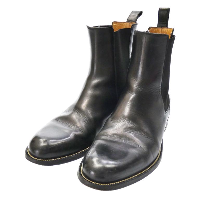【中古】GUCCI/グッチ サイドゴアブーツ サイズ:EU41 1/2 カラー:ブラック【f135】