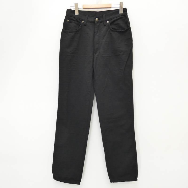 【中古】FENDI/フェンディ パンツ サイズ:31 カラー:ブラック【f135】