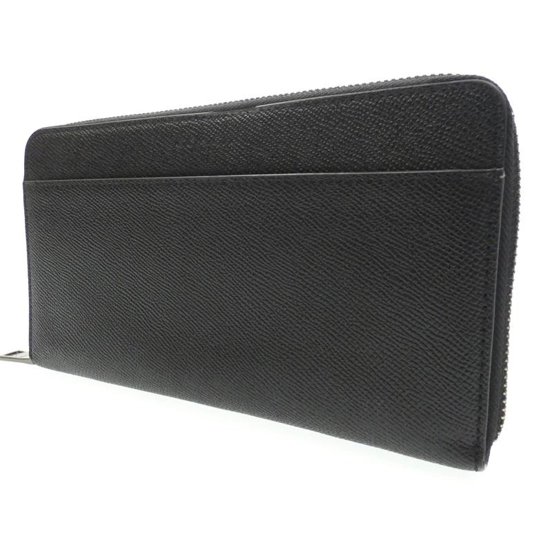 中古 COACH コーチ F59120 ラウンドファスナー長財布 正規販売店 f125 サイズ:- gwpu カラー:ブラック 注文後の変更キャンセル返品