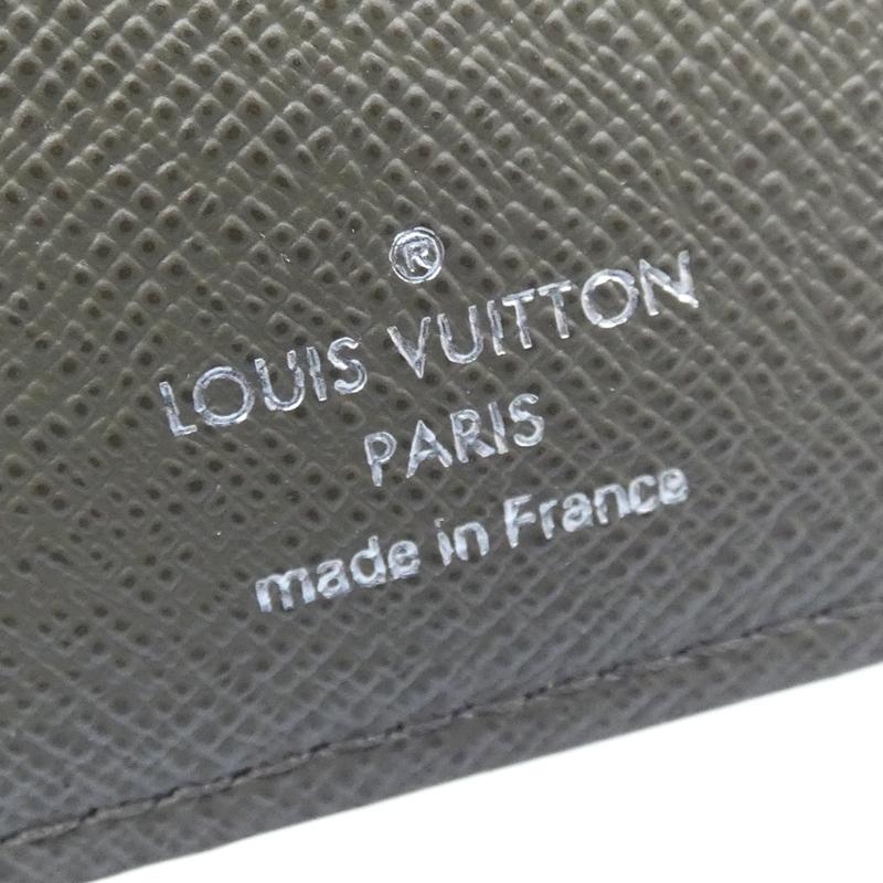 LOUIS VUITTON ルイ・ヴィトン M64011 タイガストライプ ポルトフォイユブラザ 二つ折り長財布 サイズカラー カーキ f125SpLqUVGMz