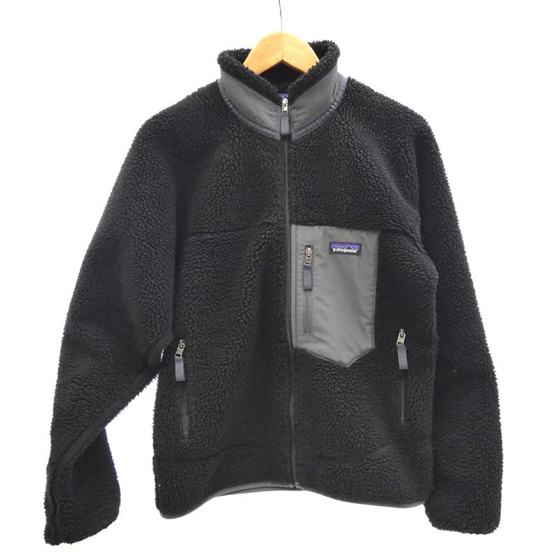 【期間限定】ポイント20倍【中古】Patagonia/パタゴニア 23056FA18 Classic Retro-X Jacket フリース サイズ:S カラー:ブラック / アウトドア【f092】