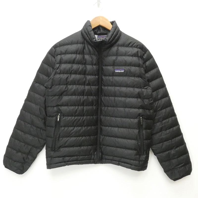 【中古】Patagonia/パタゴニア 84673F7 DOWN SWEATER ダウンジャケット サイズ:S カラー:ブラック / アウトドア【f092】