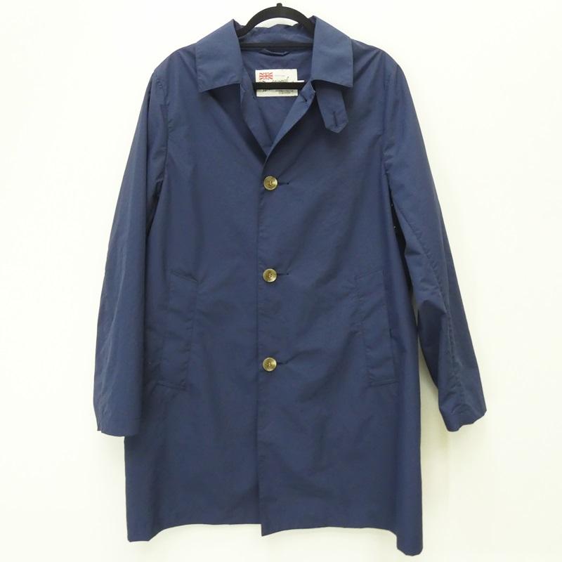 【中古】Traditional Weatherwear/トラディショナル ウェザーウェア コート/SELBY/19SS サイズ:38 カラー:ブルー系 / インポート【f094】