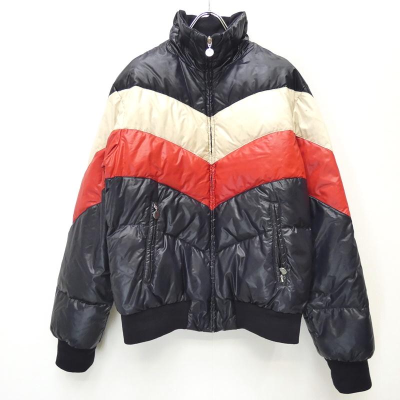 【中古】MONCLER/モンクレール 41316/50/68950 CHINE ダウンジャケット サイズ:1 カラー:ネイビー系 / インポート【f108】