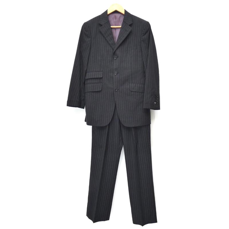 【中古】BURBERRY BLACK LABEL/バーバリーブラックレーベル スーツ セットアップ サイズ:36 カラー:ブラック / インポート 【f094】