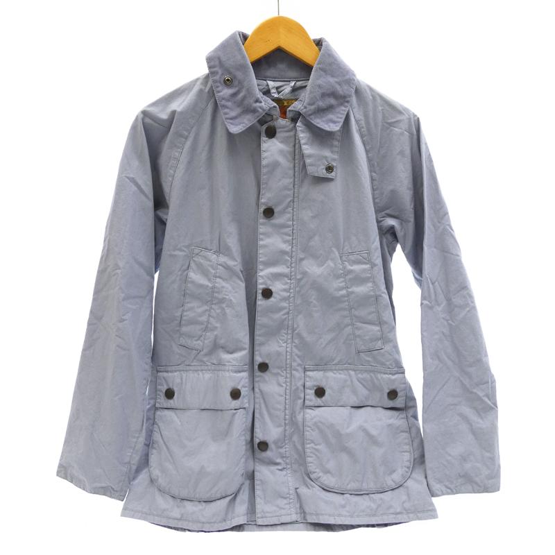 【中古】Barbour/バブアー 1301001 BEDALE ノンオイルド フィールドジャケット サイズ:M カラー:ダストブルー / インポート【f094】