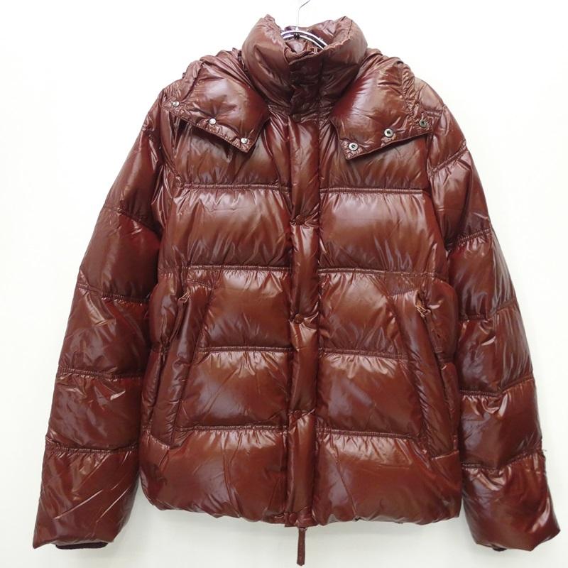 【中古】DUVETICA/デュベティカ ダウンジャケット/BALIO:国内正規品 サイズ:L カラー:ブラウン【f108】