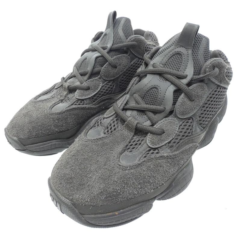 【中古】adidas アディダス ARTF36640YEEZY 500 スニーカー サイズ:26cm カラー:グレー【f126】