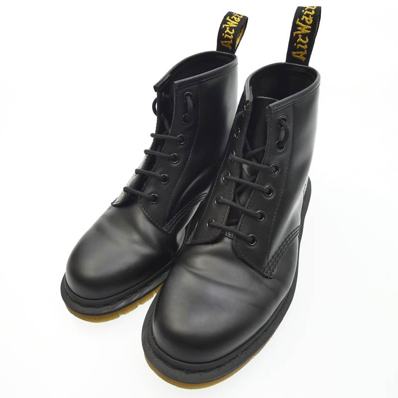 【中古】Dr.Martens ドクターマーチン ブーツ 8ホール サイズ:UK7(26) カラー:ブラック【f127】