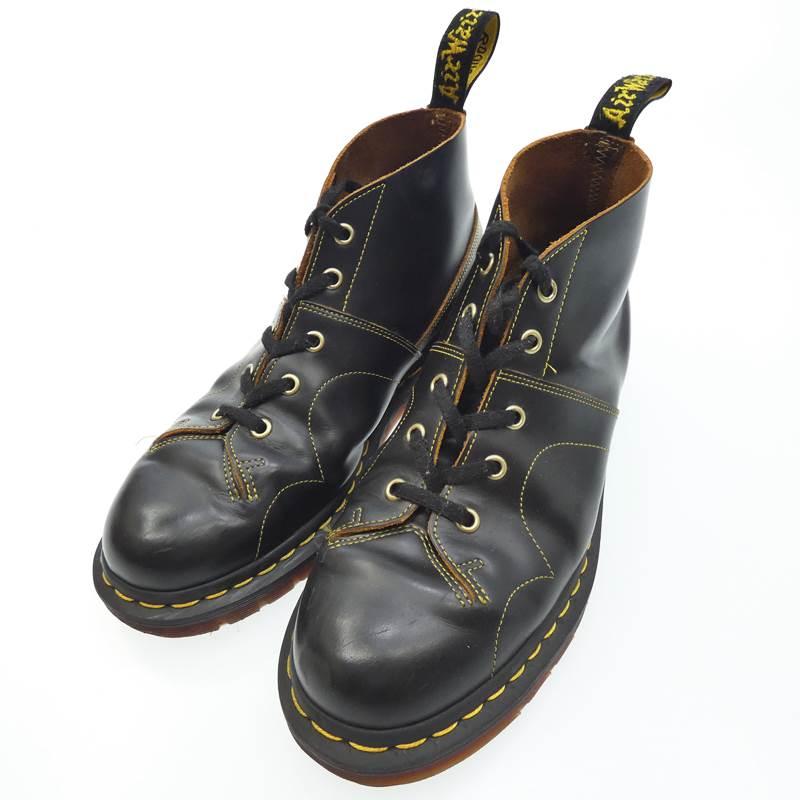 【中古】Dr.Martens ドクターマーチン ブーツ church サイズ:UK7(26) カラー:ブラック【f127】
