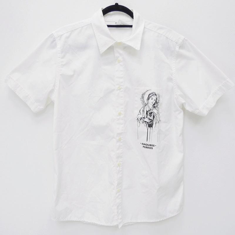 ROTTWEILER ロットワイラー 08SS シャツ半袖 サイズ:XL カラー:ホワイト【f104】:お宝市番館