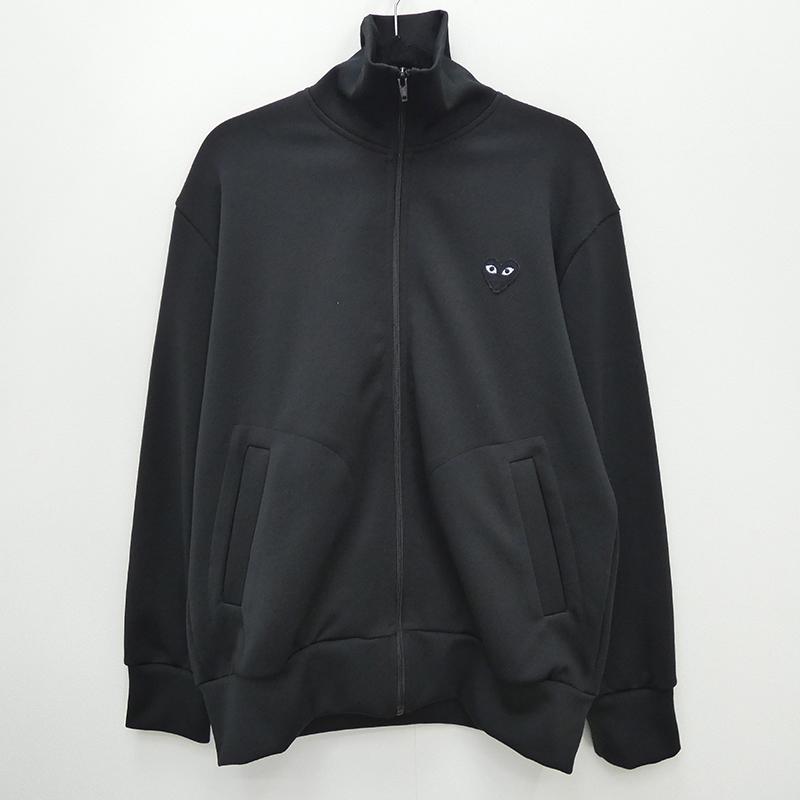 【中古】comme des GARCONS コムデギャルソン トラックジャケット サイズ:L カラー:ブラック /  【f906】