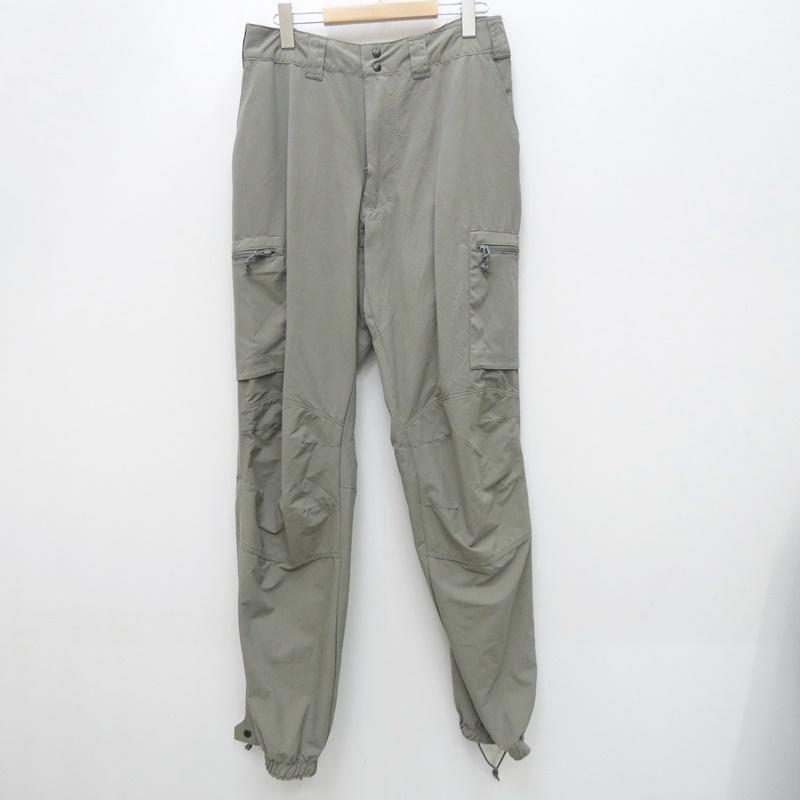 【中古】Patagonia パタゴニア W911QY-09-F-0086 MARS:level5 millitary pants gen2 サスペンダー欠品 ミリタリーパンツ サイズ:M/L カラー:グレー【f107】