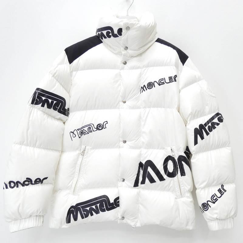 【中古】MONCLER モンクレール ダウンジャケット 19-20AW MONCLER GENIUS 国内正規品 サイズ:1 カラー:ホワイト【f108】