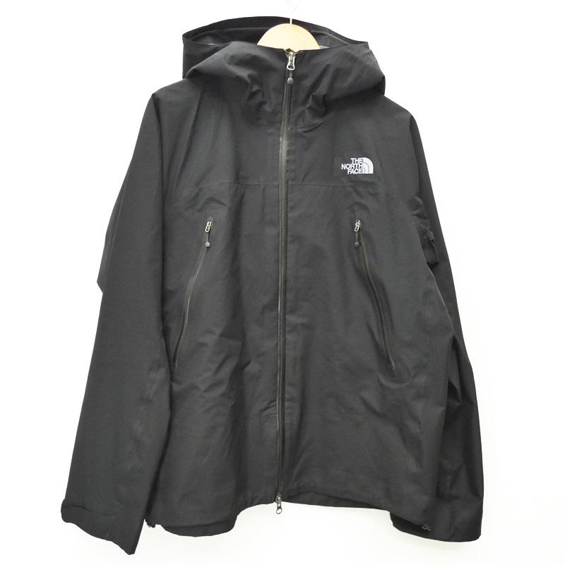 【中古】THE NORTH FACE ザノースフェイス マウンテンパーカー Climb Light Jacket サイズ:XL カラー:ブラック / アウトドア【f092】