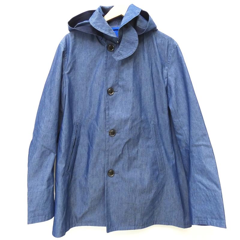 競売 ORCIVAL オーシバル コート BEAMS40周年 フード取り外し可 サイズ:4 カラー:ブルー / インポート【f094】, ラックスニー 77463f0b