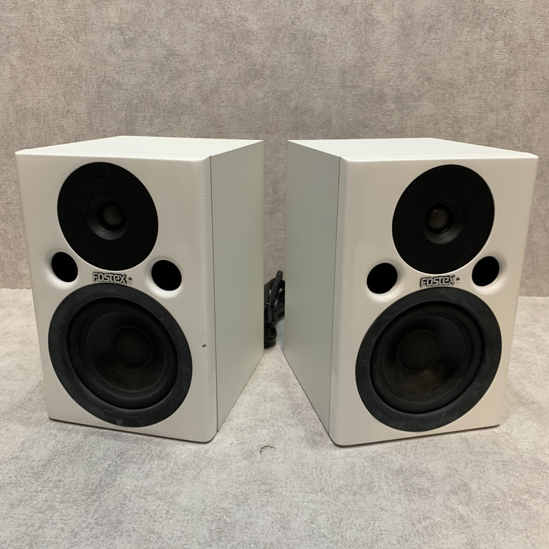 Fostex / PM0.4 White ペアセット【中古】【楽器DTM・DAW・音響機器/モニタースピーカー/フォステックス】