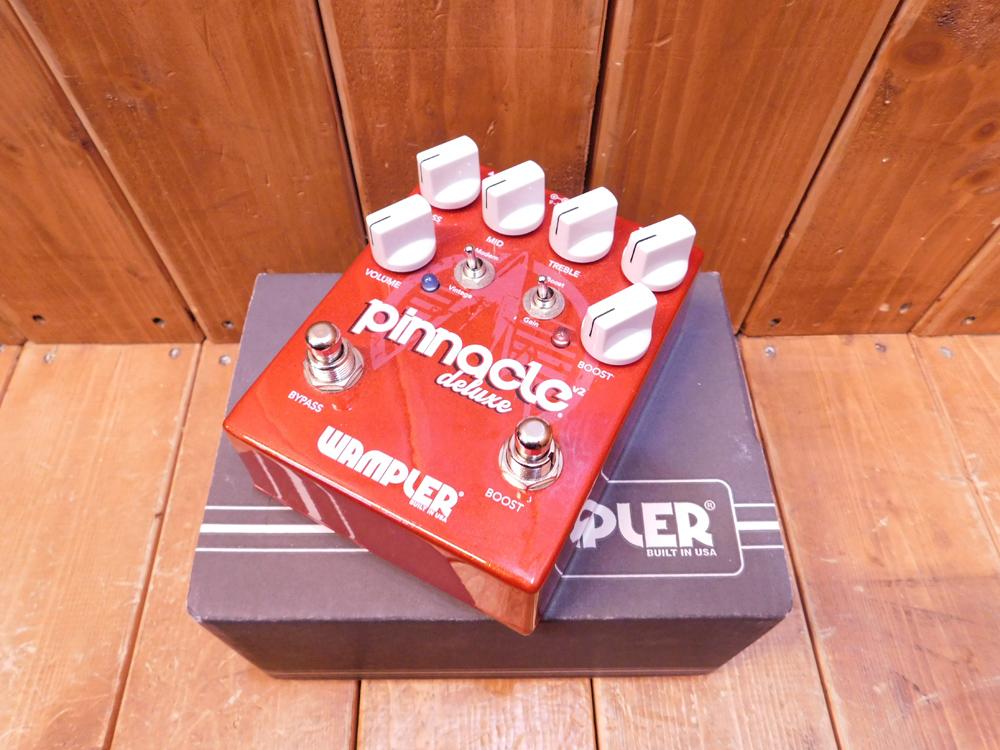 Wampler Pedals / ワンプラーペダルス Pinnacle Deluxe ver.2【中古】【used/ユーズド】【ギター/エフェクター/ディストーション/ワンプラー/ブラウンサウンド】【smtb-tk】