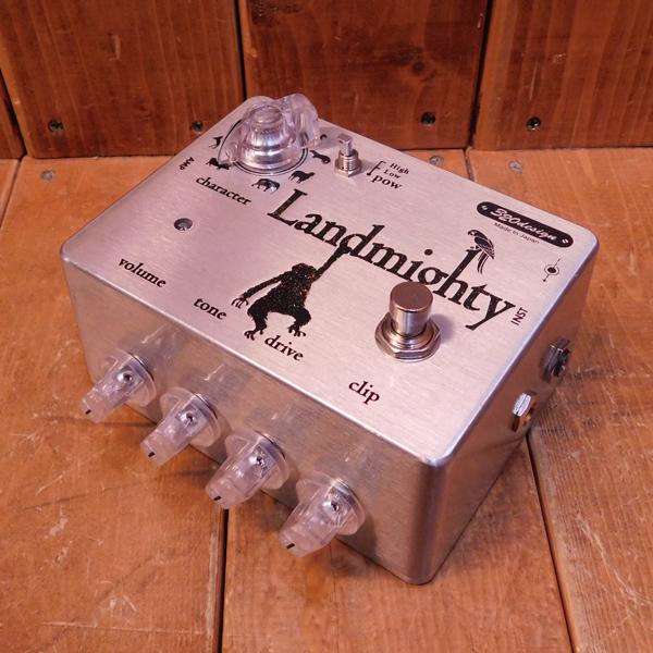 320design / Landmighty【used/ユーズド】【ギター/エフェクター/オーバードライブ/TS系】【smtb-tk】