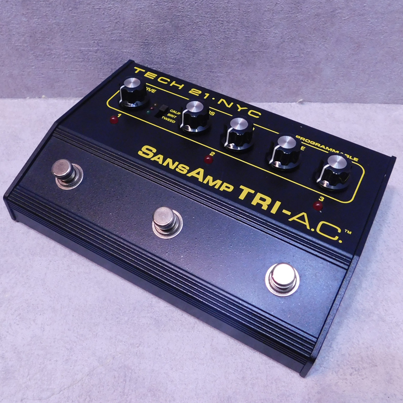 Tech 21 / SANSAMP TRI-A.C.【中古】【used/ユーズド】【エレキギター/エフェクター/アンプモデリング/サンズアンプ/プログラマブル】【smtb-tk】