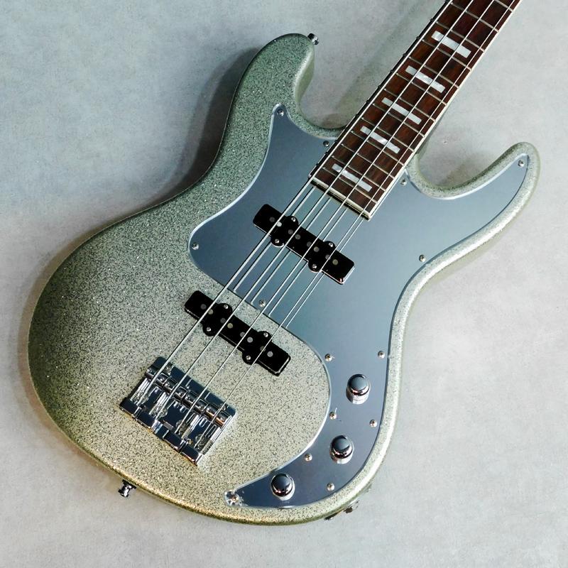 ESP / 凛~Lynn~ Silver Sparkle【中古】【楽器/エレキベース/シグネチャーモデル/シド/明希モデル/2011年製/ソフトケース】