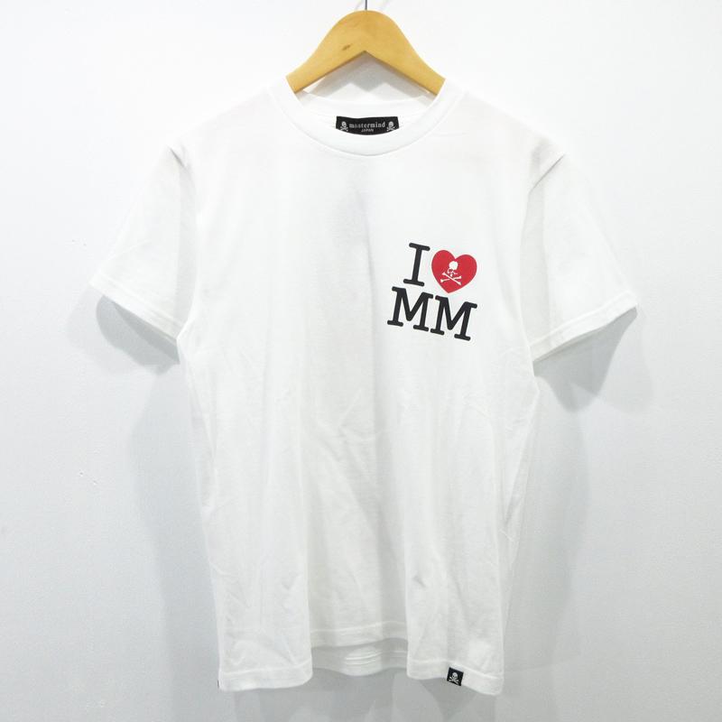 【中古】mastermind JAPAN/マスターマインド ジャパン マリリンモンロー 半袖Tシャツ サイズ:XS カラー:ホワイト / ドメス【f104】