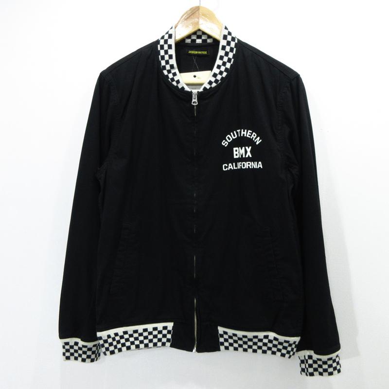 【中古】JACKSON MATISSE/ジャクソンマティス BMX Jacket サイズ:M カラー:ブラック / アメカジ【f093】