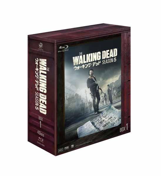 ウォーキング・デッド5 Blu-ray-BOX1【中古】【洋画・TVドラマBlu-ray】