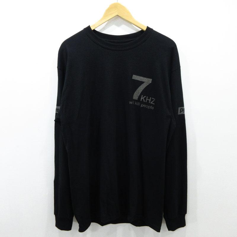 【中古】Phazer Tokyo/フェイザー トーキョー 長袖Tシャツ サイズ:L カラー:ブラック / ストリート【f103】