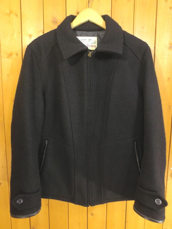 【中古】TROPHY CLOTHING/トロフィークロージング ウール ジャケット サイズ:M カラー:ブラック / アメカジ