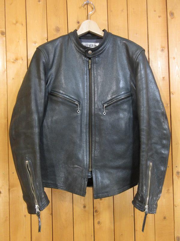 【中古】BOOTLEGGERS/ブートレガーズ シングルライダースジャケット サイズ:38 カラー:- / アメカジ